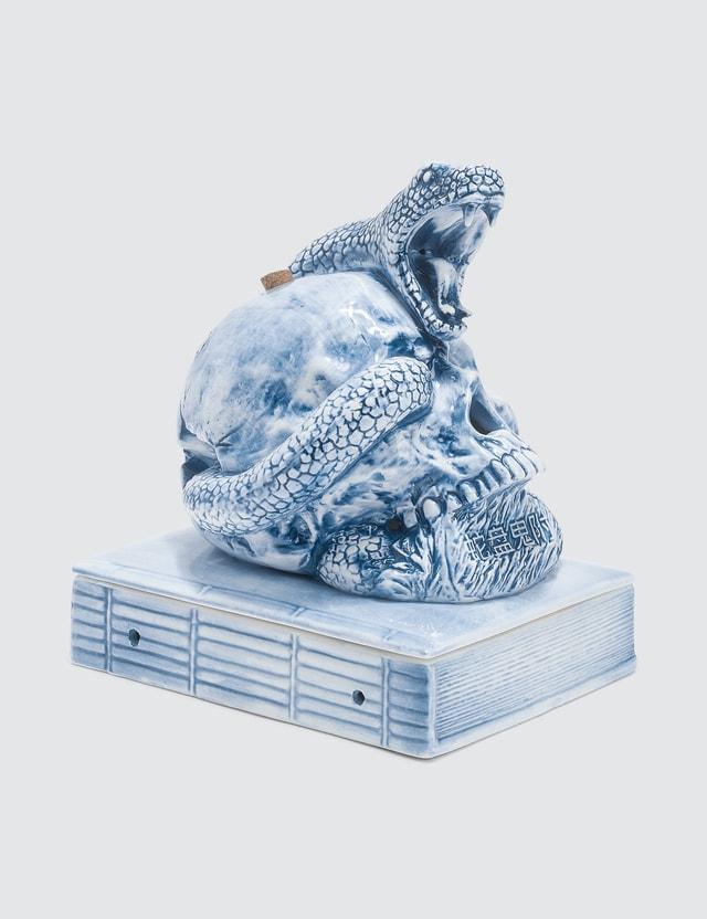 Yeenjoy Studio The Skeleton Snake Incense Holder