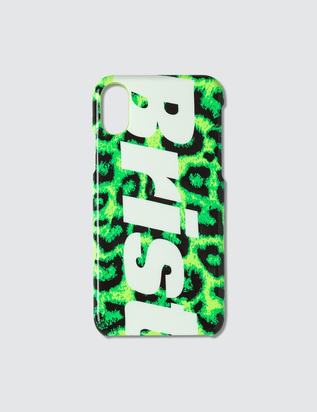 F.C. Real Bristol Leopard Print iPhone X/Xs Case Green Men
