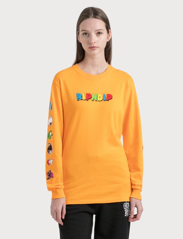RIPNDIP Nermio Long Sleeve T-Shirt