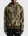 Palm Angels Camo Embroidered Hoodie Picture
