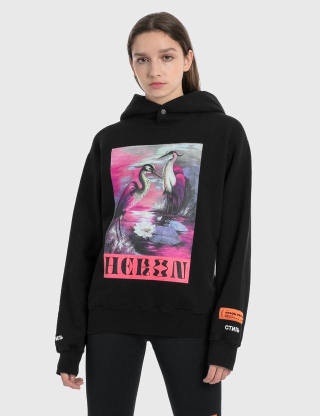 Heron Preston Heron Graphic Hoodie