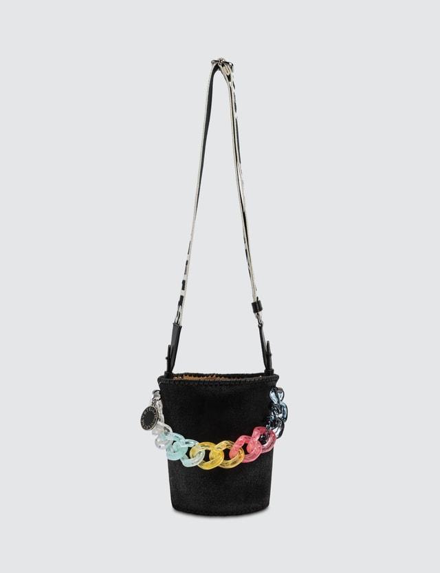Stella McCartney Bucket Bag With Chunky Pastel Chain