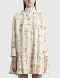 Ganni Printed Cotton Poplin Oversized Dress Picture