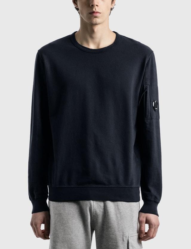 CP Company Lens Sweatshirt Total Eclipse Men
