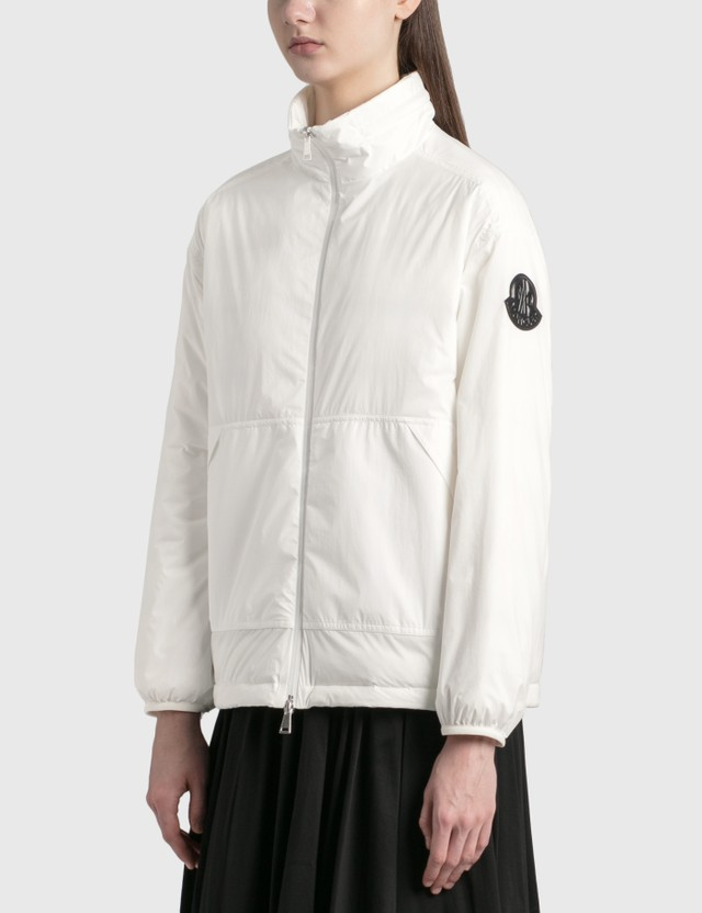 Moncler Menchib Down Jacket White Women