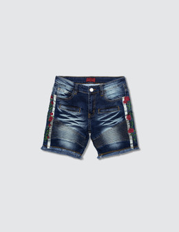 Haus of JR Ron Biker Denim Shorts