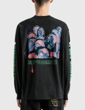 Brain Dead 포스트 어스 신드롬 긴소매 티셔츠 Black Men