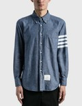 Thom Browne 4-Bar Chambray Shirt Picture