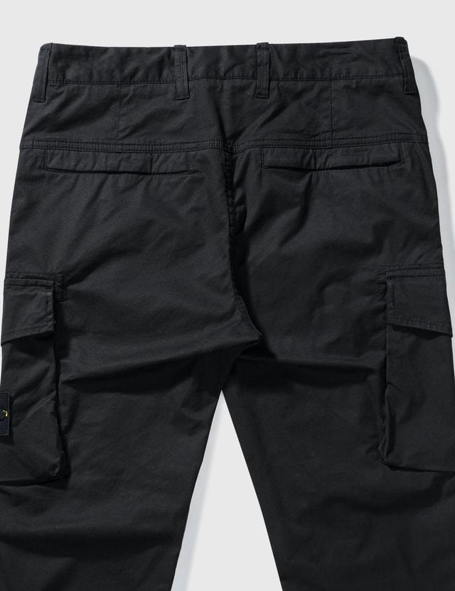 Stone Island Cargo Pants Black Men