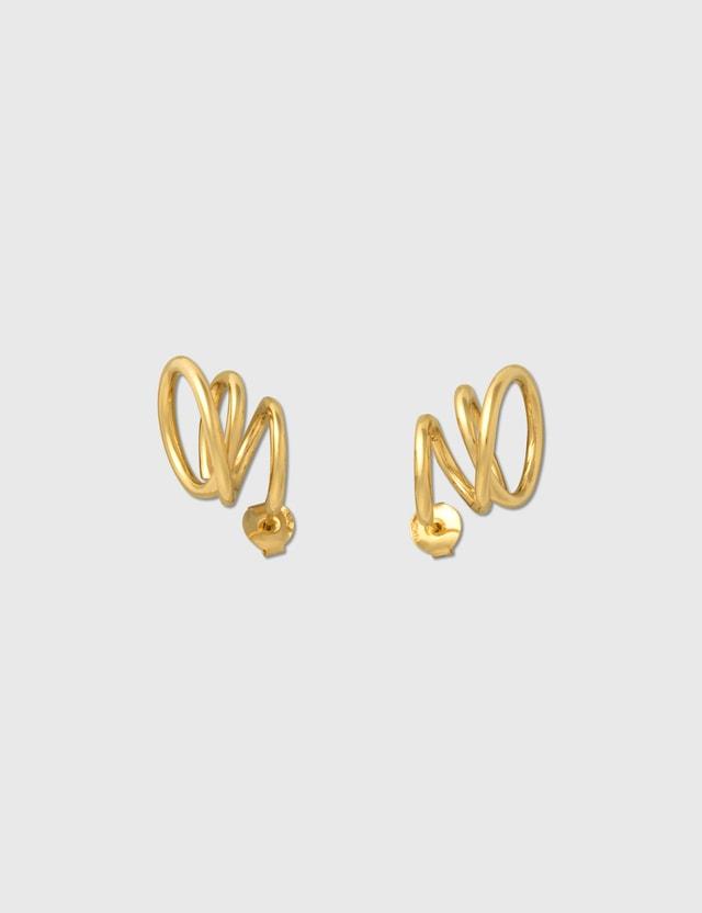 Completedworks Flow Earrings Gold Women