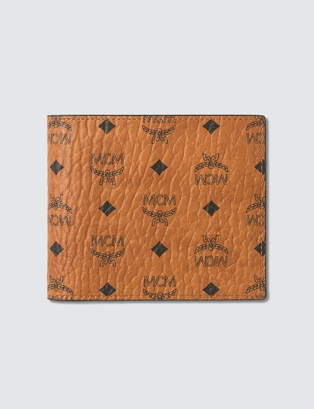 MCM Flap Wallet in Visetos
