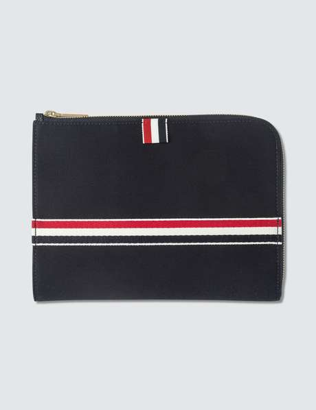 톰 브라운 동전지갑 Thom Browne Small Gusset Folio