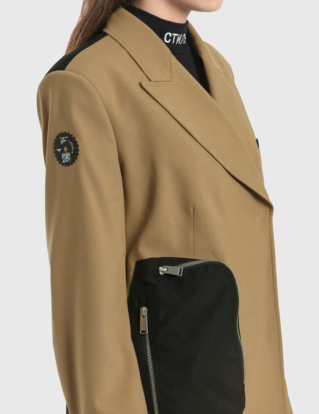 Heron Preston Tailoring Wool Blazer