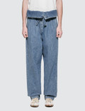 Loewe Belted Pleated Oversize Jeans Picture