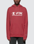 Champion Reverse Weave Wood Wood x Champion Logo Hoodie Picture