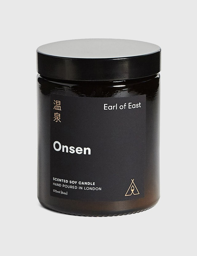 Earl Of East Onsen Soy Wax Candle N/a Unisex
