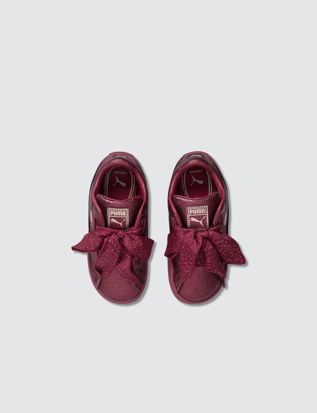 Puma Basket Heart Holiday Glamour Infant