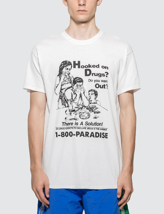 Paradise NYC Hooked On Drugs Paradise T-shirt