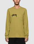 Stussy Myles Pocket Long Sleeve T-shirt Picutre