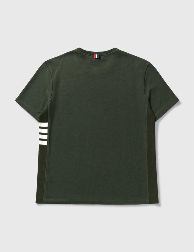 Thom Browne Classic T-shirt Dk Green Men