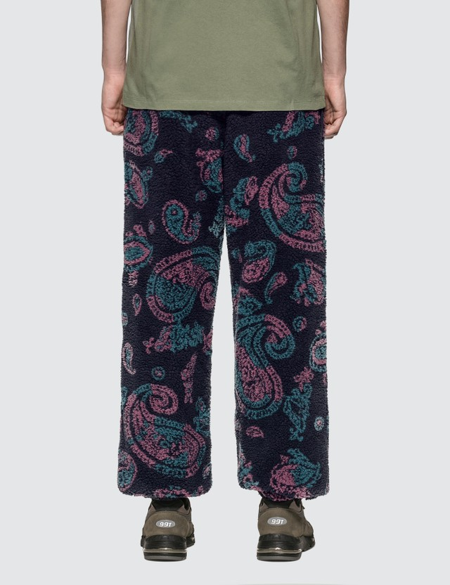 Aries Paisley Fleece Track Pants Paisley Men