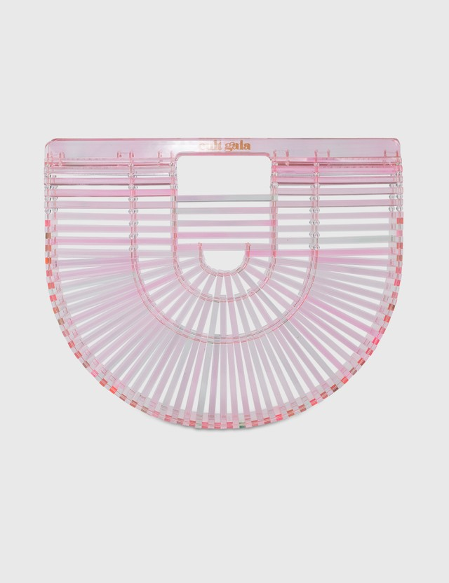 Cult Gaia Acrylic Ark Small Bag Pink Women