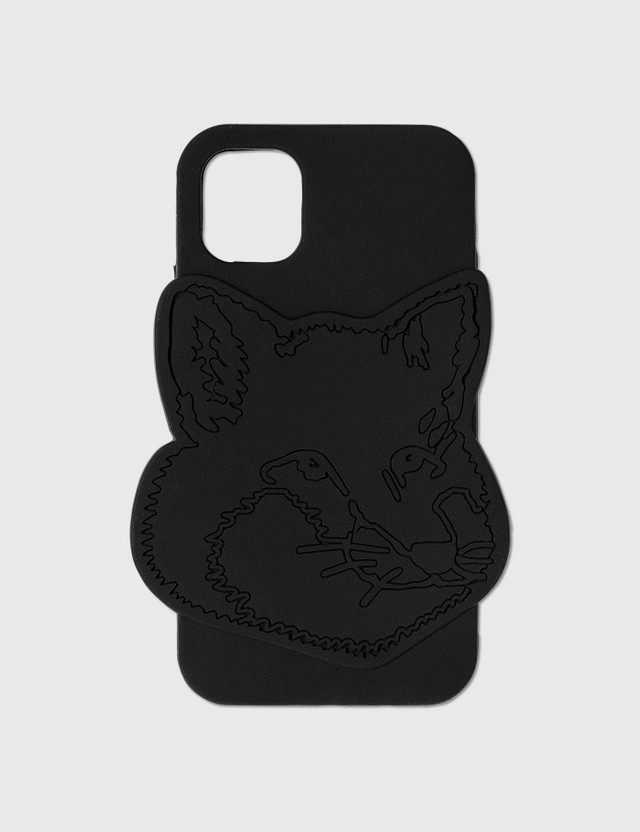 Maison Kitsune Fox Head Silicone iPhone 11 Case