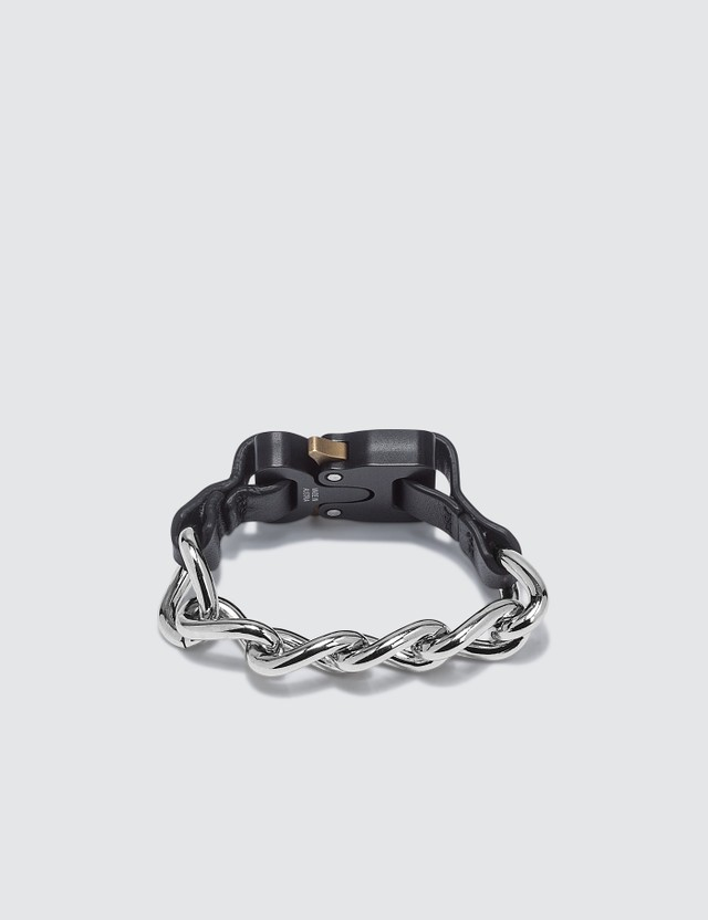 1017 ALYX 9SM Chain Bracelet With Leather Details