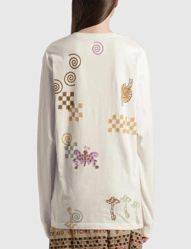 Story Mfg Grateful Long Sleeve T-Shirt Spiral Trip Women