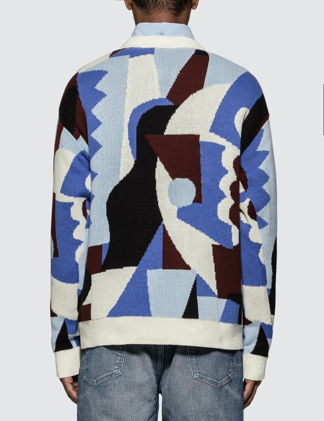 Napapijri x Martine Rose Abstract Jacquard Knitwear