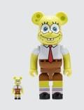 Medicom Toy Be@rbrick 100% & 400% Spongebob Picutre