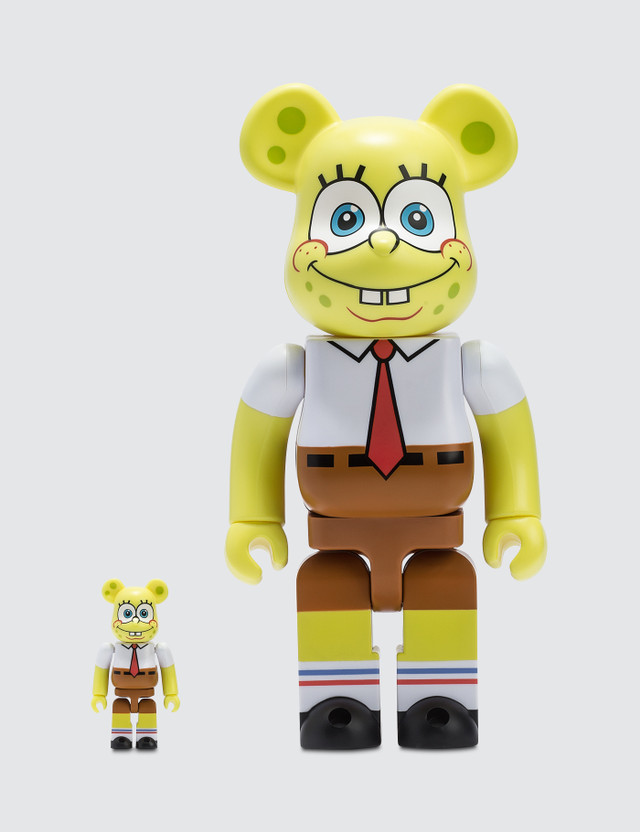 Medicom Toy Be@rbrick 100% & 400% Spongebob
