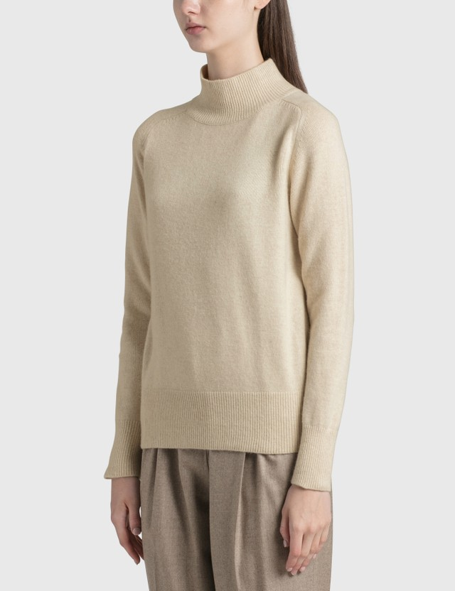 Nothing Written Turtleneck Sweater White Women