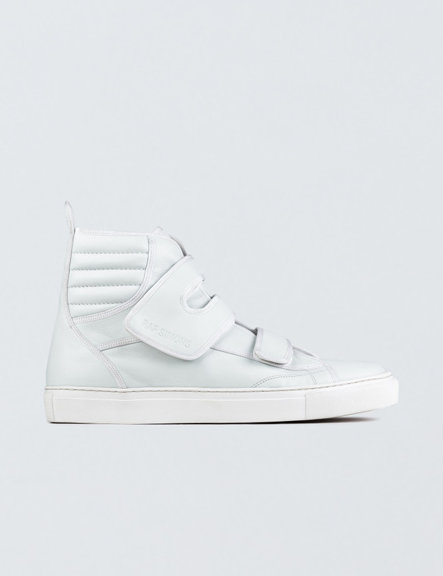 Raf Simons High Top Velcro Sneaker