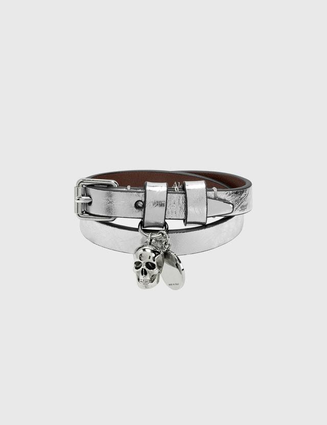 Alexander McQueen Double Wrap Bracelet