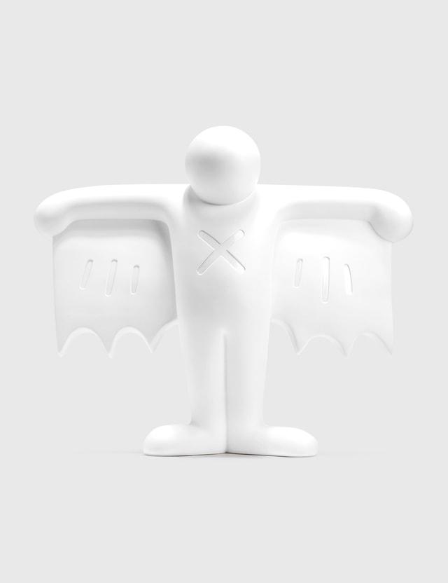 Medicom Toy Keith Haring Flying Devil Statue White Version