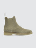 Common Projects Suede Chelsea Boots Picutre