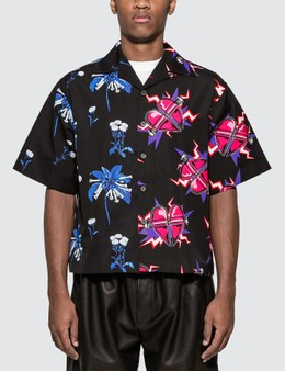 Prada Double Match Poplin Shirt