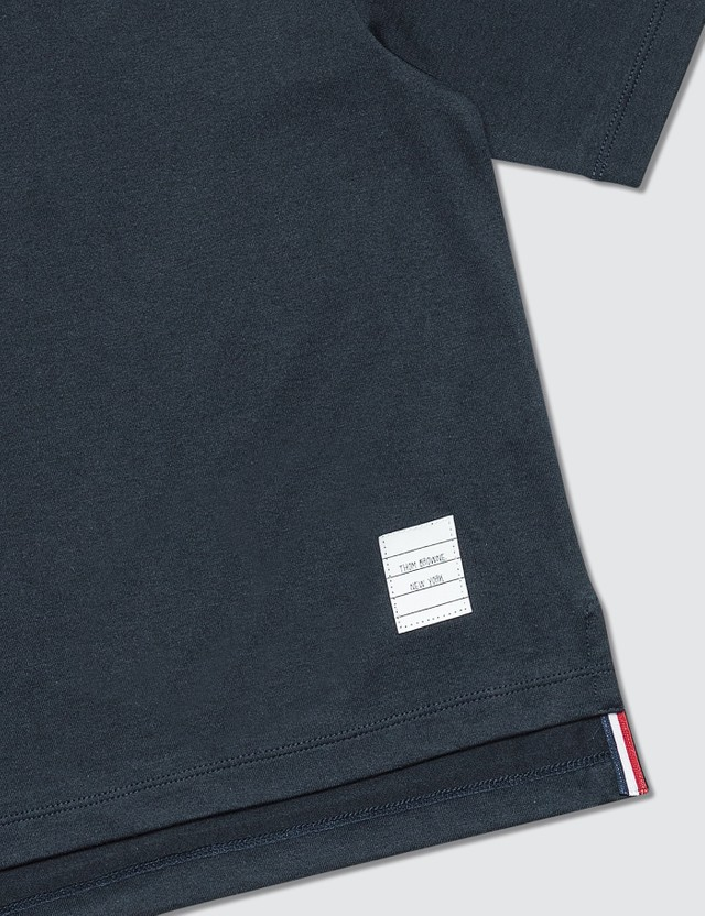 Thom Browne Logo Patch T-Shirt (Kids)