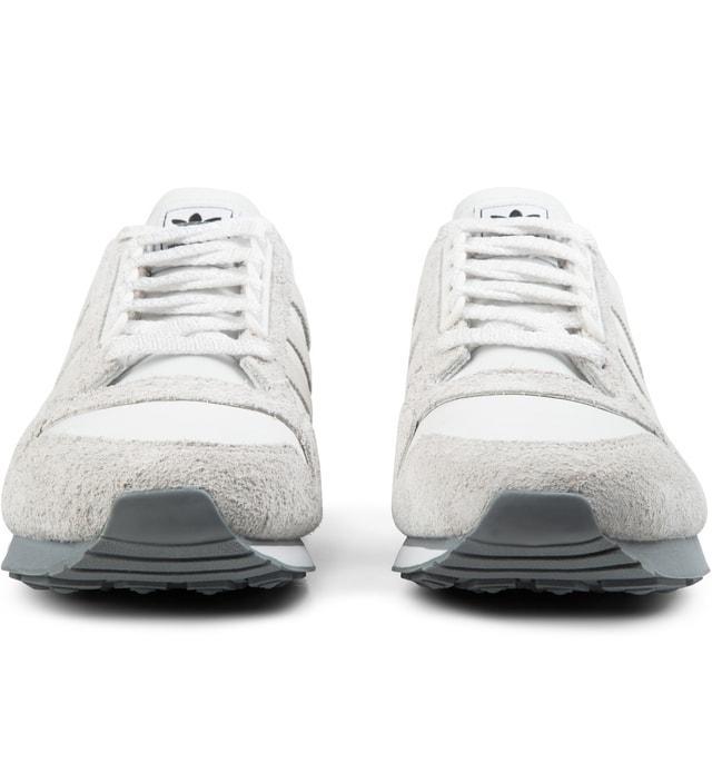 2ddc85dd693cb Adidas Originals NEIGHBORHOOD x adidas Originals Neo White Grey NH ZX 500 OG  Sneakers