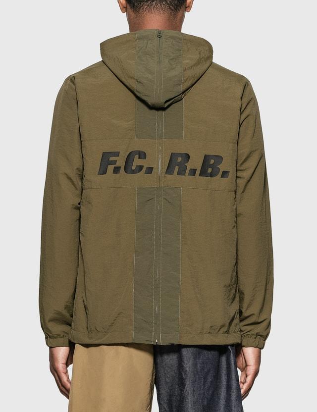 F.C. Real Bristol 세퍼레이트 프랙티스 재킷 Khaki Men