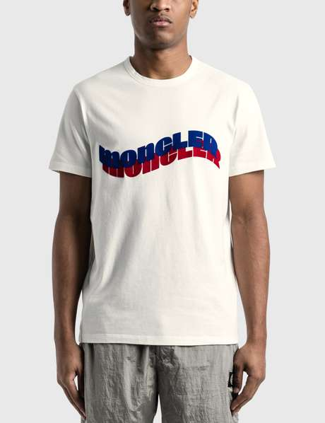 몽클레어 Moncler Wave Logo T-Shirt