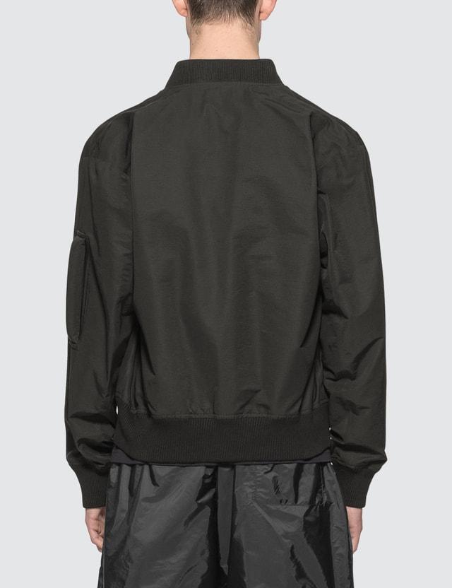 Bottega Veneta Nylon Bomber Jacket