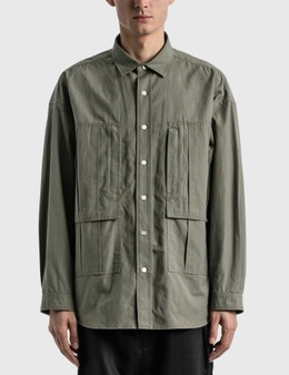 Meanswhile Graph Line Overshirt