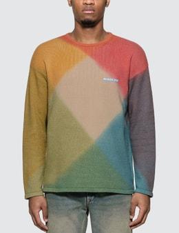 Off-White Tie Dye Crewneck Sweater
