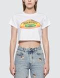 Fiorucci UFO Print Cropped T-shirt Picutre