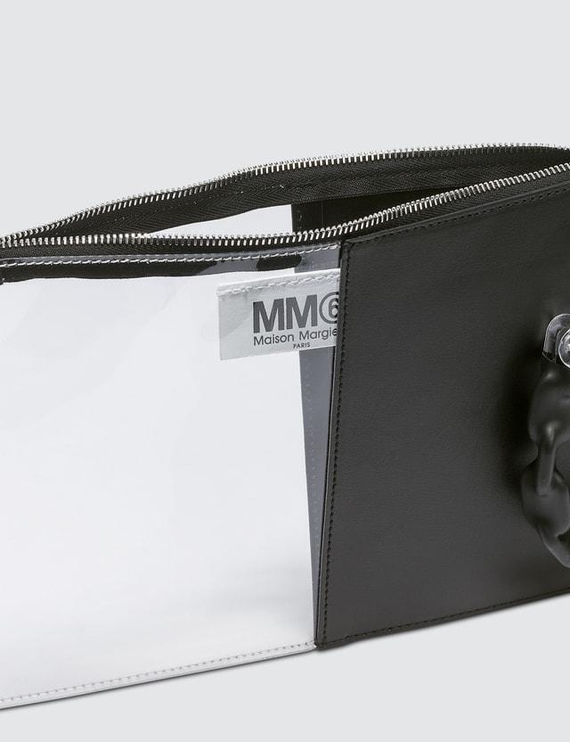 MM6 Maison Margiela Half Transparent Clutch