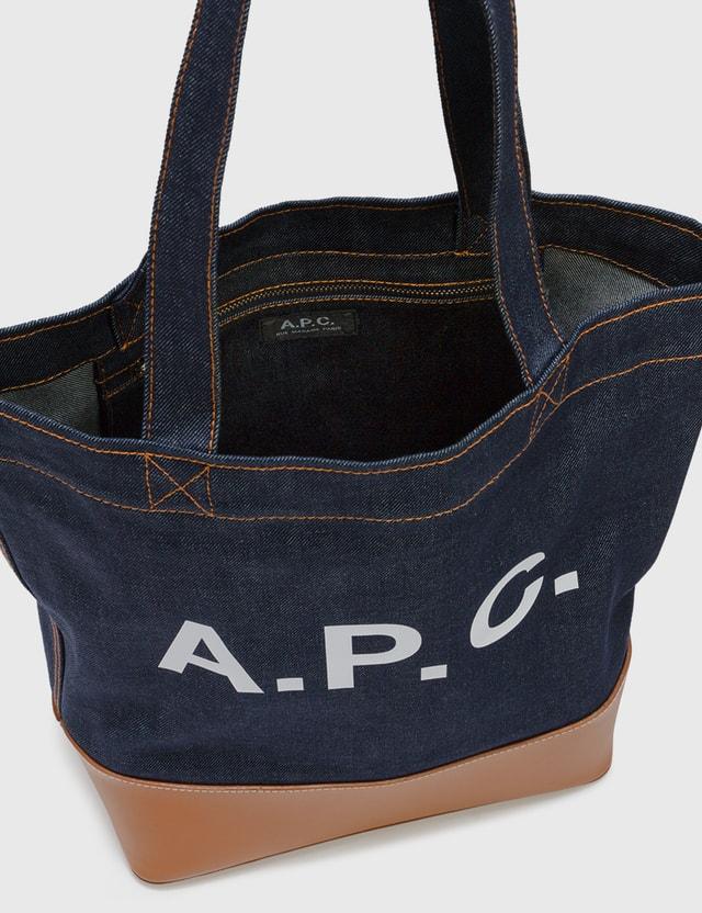 A.P.C. Axelle Tote Bag Caf Caramel Women