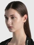 Alexander McQueen Embossed Skull Ear Cuff Mcq0911sil.v.b Antil Women