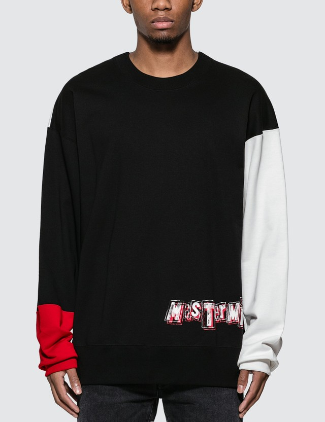 Mastermind World Boxy Blocking Crewneck Sweatshirt
